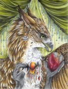 queengryph1.jpg by Caroline Muchmore (Little Serval)