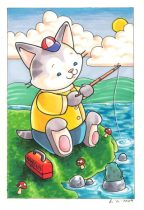 kittyfishing.jpg by Jill C. (Jill0r)