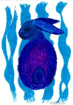 bluebun.jpg by Heather Fieldhouse (BunnyHugger, Ringo)