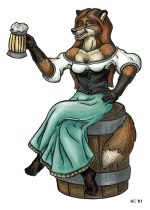 beerwench.jpg by Kayleen Connell (Katarina)
