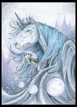 winterunicorn02.jpg by Caroline Muchmore (Little Serval)