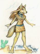 coyote-girl.jpg by Aura Moser
