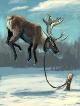 flyingreindeer.jpg by Lisa Payne (Blinded Angel)