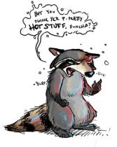 coondrunk.jpg by Kelly Peters (Terzy, Sabine)