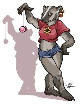 badgeryoyo.jpg by Ursula Vernon