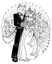 wuffoxwedding.jpg by Gloria Higginbottom (Twap, Snitter)