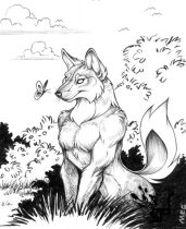 springwolf.jpg by Megan Giles (SpaceCat)