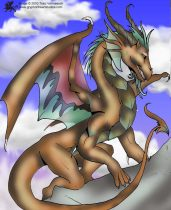 copper-dragon-sitting.jpg by Traci Vermeesch (Ulario)