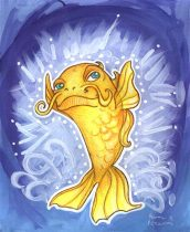 enchantedcarp.jpg by Anna Pieruccini