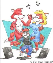 dancefox.jpg by Po Shan Cheah (Morton)
