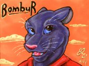 bombrfin.jpg by Erika Leigh Rosengarten (Chilly Mouse Mousie)