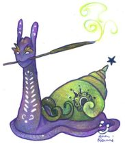 dreamsnail_incense.jpg by Anna Pieruccini