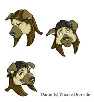 dantefaces.jpg by L.N. Dornsife (Thornwolf)