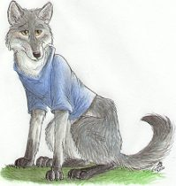 alphwlf.jpg by Gloria Higginbottom (Twap, Snitter)