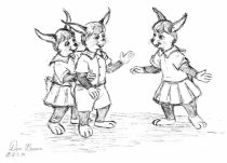 threefur.jpg by Donald Brown (oldrabbit)