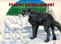 howliday.jpg by Kimberly Pyne (T'Kuro Grym)