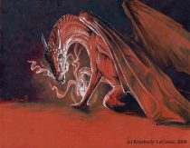 aa20040126smaug01lgcr.jpg by Kimberly LeCrone (The Regal Tigress, Dreamspirit)