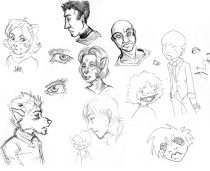 sketchpage.jpg by Amber Anderson (immortalpain, ippy)