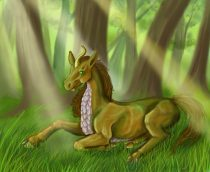 kirin2.jpg by Mary Ames Murphy (Alicorn, Aurinona)