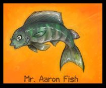 aaronfish.jpg by Melissa Spencer (Gabrielle)