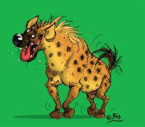 hyena_laugh.jpg by Nathalie Jean-Bart