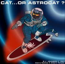 astrocat.jpg by Barclay Johnson (Bigfella Machine)