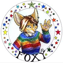 foxyxmas.jpg by Gloria Higginbottom (Twap, Snitter)