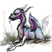 dragondoodle.jpg by Kelly Peters (Terzy, Sabine)