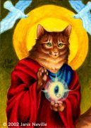 a-cat-icon-painting.jpg by Janis Neville (starfallz)