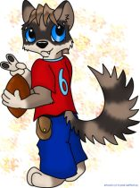 huscoon2.jpg by Crystal Gafford (Kittrel)