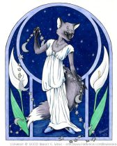 fox_night_c.jpg by Bridget Wilde (Bewildered)