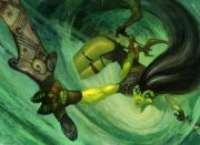 snakewarrior.jpg by Anthony S. Waters (Fireant)