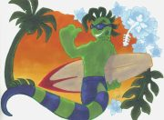 sliguana-surfer.jpg by Ashley Green (Kilojara)