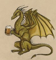 beerdragonc.jpg by Mary Ames Murphy (Alicorn, Aurinona)