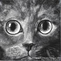 scratchboard_kitty.jpg by Michelle Rodriguez (Etherrawen)