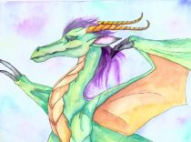 watercolor-dragon.jpg by Traci Vermeesch (Ulario)