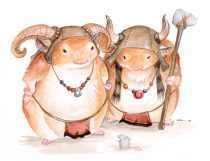 battlehamsters.jpg by Ursula Vernon