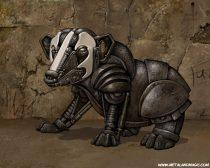badgermech.jpg by Ursula Vernon