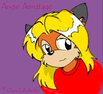 angiehed.jpg by Chris LaFollette (TheKitFox)