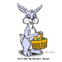 bluebuny.jpg by Donald Brown (oldrabbit)